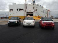 Автомобили Fiat 500L прибыли в Северную Америку