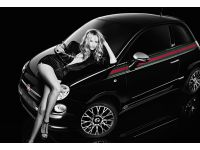 Fiat и Gucci открыли рекламную компанию, посвященную «500 By Gucci», с участием фотомодели Наташи Поли