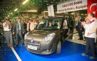 Изготовлен миллионный автомобиль Fiat Doblo